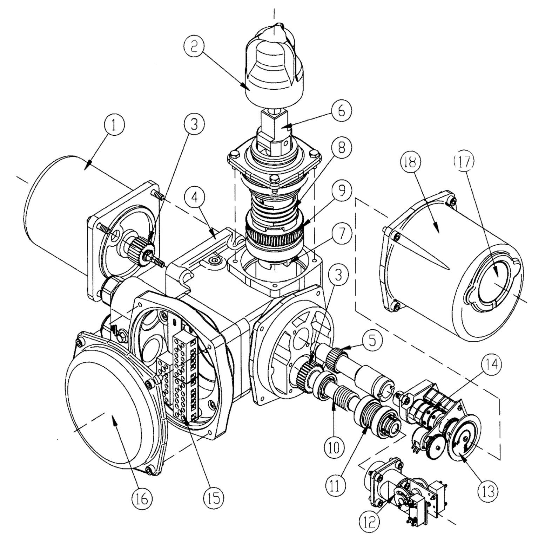Электропривод ГЗ-А.70 - Схема